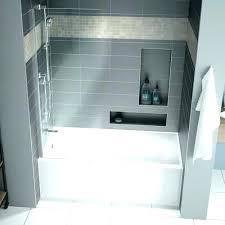 54 tub surround x bathtub professional alcove fine fixtures drop in or soaking fiberglass bathtubs with