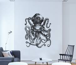 Octopus Wall Decal Choice Image - Home Wall Decoration Ideas