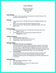 sample resume cnc maintenance engineer  best create professional