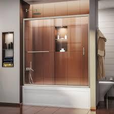 tub shower doors. Infinity-Z 56 In. To 60 X 58 Semi- Tub Shower Doors
