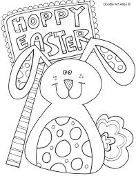 Easter Coloring Sheets Kontaktimproorg