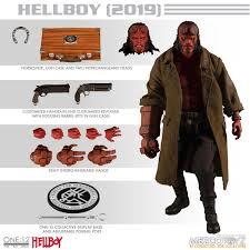 Mezco Toyz Hellboy (2019) Hellboy 1/12 Action Figure – Movie Figures