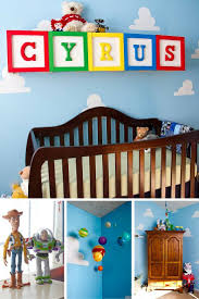 This spot on Toy Story inspired nursery is beyond adorable