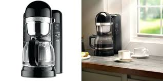 kitchenaid 12 cup coffeemaker kitchen deal drip coffee maker kcm1202ob onyx black