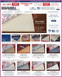 rug pad usa oriental rug pads cushioning memory foam felt no slip new york retailer