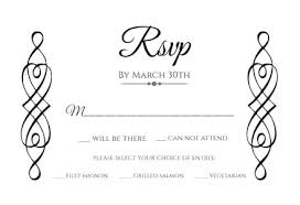 Rsvp Template Online Rsvp Card Templates Free Greetings Island