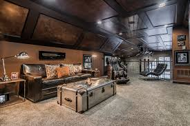 office man cave. Home Office - Eclectic Home Idea In Columbus Man Cave