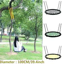 outdoor nest chair baby tree swing chair children round rope stout swing indoor and outdoor nest
