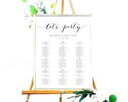 Wedding Seating Chart Board Template Jasonkellyphoto Co