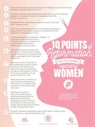 The 10 Points Of Reformation For The Church Regarding Women My War