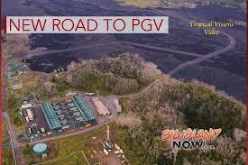 big island news information big island now video kīlauea overflight shows new road to pgv