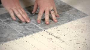 installing kitchen floor tile over linoleum morespoons 25264ca18d65