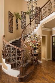 stairway wall artwork
