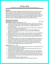 Resume Objectives For Management Sports Management Sample In Resume