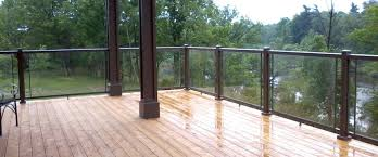 bakker aluminum decks railing