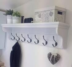 hallway coat rack coat rack shelf