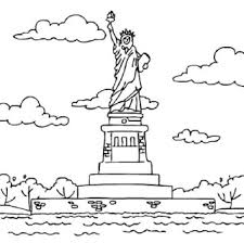 Small Picture Statue Of Liberty Coloring Pages Ultimate Homeschool Board