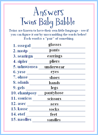 Baby Shower Game Idea For Girl Nursery Rhymes Game For Baby Shower Shower Games For Baby