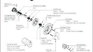 delta bathtub faucet leaking handle single shower repair monitor faucets fauc