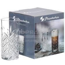 <b>Стакан стеклянный</b> Pasabahce Таймлесс 52820B, 4 шт, 295 мл в ...