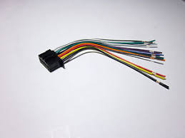 pioneer deh x3800ui wire harness new c ebay