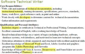 software_technical_writer_job_post_highlight