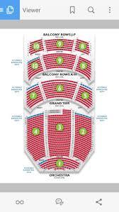 Durham Performing Arts Center Dpac Dpac Seating Chart