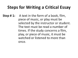 critical analysis film essay examples how to write an analysis  writing a critical film essay critical analysis film essay examples