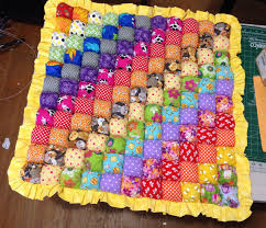 Double Rainbow Biscuit Quilt Bubble Quilt Play Mat by MichellesEye ... & Double Rainbow Biscuit Quilt Bubble Quilt Play Mat by MichellesEye  multicolor quilt work Adamdwight.com