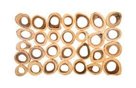 chuleta rings wall art chamcha wood