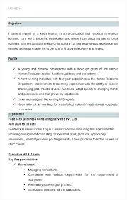 Sample Hr Director Resume Sample Senior Human Resources Generalist Mesmerizing Human Resources Generalist Resume