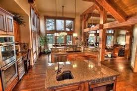 Open Floor Plan Kitchen Living Room   Country Living Room And        Open Floor Plan Kitchen Living Room   Country Living Room And Kitchen Open Floor Plans