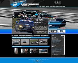 Driver Websites Creates New Website for Derek DeBoer Racing ...