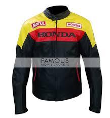 honda biker leather jacket previous