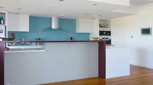 kolor kitchen glass splashbacks blue light grey supplied installed by