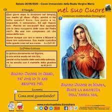 Cuore Immacolato Di Maria 2020