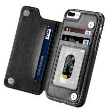 iphone 7 plus case iphone 8 plus case hoofur slim fit premium leather iphone