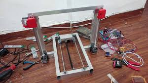 Cheap <b>Homemade</b> 3D Printer with normal <b>Aluminum Frame</b> ...