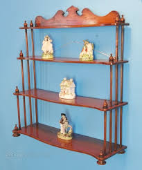 early victorian hanging wall shelves