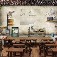 vintage coffee shop wallpaper. European Style Village Large Murals Retro Nostalgia Wallpaper Restaurant Coffee Shop Wallpaperin Wallpapers From Home Improvement On Aliexpresscom With Vintage
