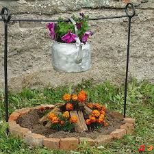 campfire flowers these are the best diy garden yard ideas