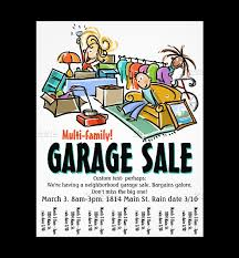 Garage Sale Flyers Free Templates Beautiful Garage Sale Poster Template Ideas Example L Shaped Garage