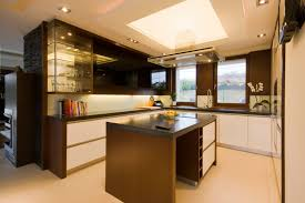 bright kitchen lighting fixtures. Bright LED Kitchen Ceiling Lighting On The Above Island Fixtures