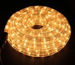 Clear White Rope Lights 6m Clear White Rope Light Indoor Outdoor Amazon Co Uk