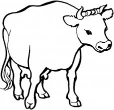 Small Picture Cow Pictures To Color Free Printable Cow Coloring Pagesjpg Pages