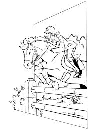 100 Paarden Kleurplaat Springen Kleurplaat 2019