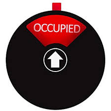 occupied bathroom sign. Privacy Sign For Offices Or Homes - Do Not Disturb Sign, Restroom Office Conference Vacant Occupied Tells Whether Rooms Are Bathroom