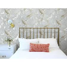 NextWall 30.75-sq ft Metallic Champagne ...