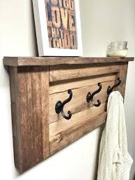 shelf with hooks coat rack shelves furniture wooden wall hooks wooden rack amazing coat shelf