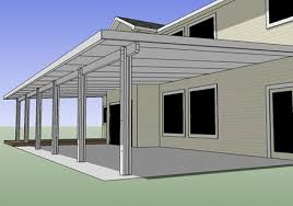 patio cover building plans find house
